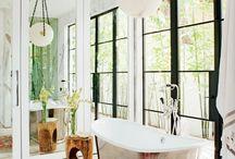 Oriental rugs in the Bathroom
