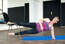 Pro ŽENY  - cviky na stehna,zadek, břicho, záda