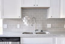 Kitchen subway tiles
