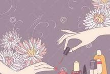 imagen para uñas grafica