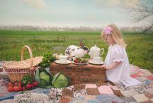Girly picnic