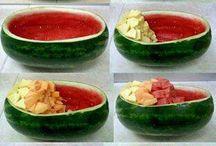 Recipes ~ Fruity salads