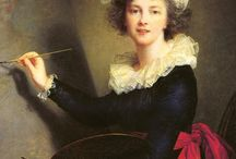 Louise Élisabeth Vigée Le Brun (Madame Lebrun, 1755 - 1842) / Art from France.