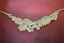 Crochet jewelry and ornamentation
