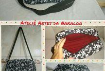 Costura Criativa / Produtos confeccionados pelo Ateliê Artes da Nakaloo