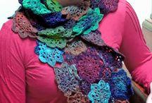 Crochet scarf patterns / by Rain Blanken