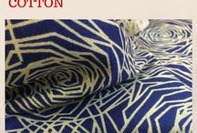 Pure Cotton Fabric / Authentic pure cotton fabric for this hot summer, available in cool colours and gorgeous patterns at http://fabcouture.in/ Place your orders now. Unbeatable prices! Huge variety! Free Shipping!