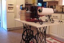 Furniture - Treadle Sewing Machine / by Barbed Wire