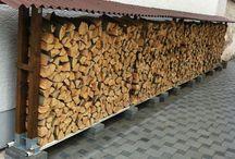 Holzlager