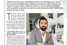 Robot Yatırımları Dergisi Ağustos 2015 Sayısı / Satış Müdürümüz Emrah Hünerlitürkoğlu'nun Robot Yatırımları Dergisi Ağustos 2015 Sayısı Söyleşisi
