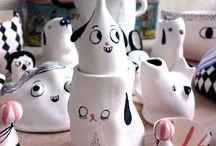 Porcelaine ceramic potery