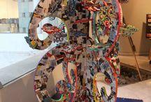 """""""Arte en la escuela"""" / Trabajos interdisciplinarios"""