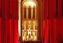 katedry wnętrza