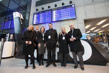 Nowy dworzec kolejowy w Katowicach / Otwarcie nowego dworca kolejowego w Katowicach w 2012 roku. Projekt realizowany przez Imago PR
