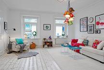 Interiors & colors