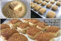 tuzlu kurabiye ve poğaça tarifleri