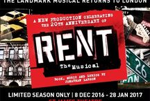 RENT The Musical / The multi-award-winning breakthrough musical RENT returns to the West End this Christmas to celebrate its twentieth anniversary.  Based on Puccini's La Boheme, this modern rock opera tells a powerful story about modern life, love and loss. Set in New York's East Village amidst the heyday of Bohemian excess, RENT follows the lives of a group of young artists as they tackle poverty, conflict and tragedy.  Click here for more info: http://bit.ly/2cGsxX7