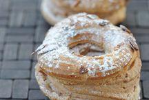 Pâtisserie en pâte à choux