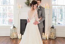 For the Styled Shoot: Intimate and Elegant Southern Wedding Inspiration / by Lily & Oak