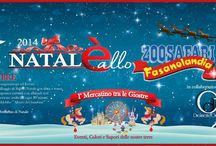 Christmas 2014 at the Zoosafari Park Fasano BR Italy / atmosphere and entertainment