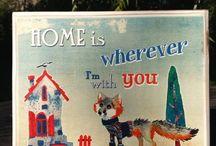 Fa táblakép - vicces szövegek / Wood signs with funny quotes / Fa táblaképek a Kacatos Műhelyből retró, vintage és shabby chic stílusban. Kézzel megmunkált fából, igényesen kivitelezett, minőségi dekoráció és ajándék.