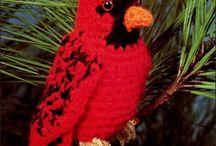 Crocheting Birds