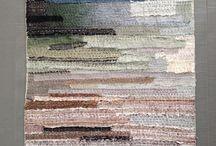 Leftover silk pieces