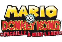 Mario vs. Donkey Kong: Mini Land Mayhem / A collection of artwork, screenshots and other images from Mario vs. Donkey Kong: Mini Land Mayhem for Nintendo DS.  Visit http://www.superluigibros.com/mario-kart-ds for more information on this game.