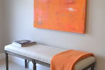 Orange and Turquoise / by Carol Donnell