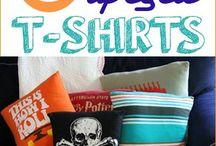 Upcycled Tshirts