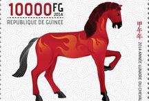 New stamps issue released by STAMPERIJA | No. 392 / GUINEA (Guinée) 25 03 2013 Code: GU14111a-GU14121a