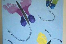 pictura cu mani si picioare