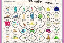 Speech - articulation activities
