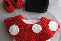 Minnie Mouse Crochet and knits and others