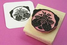 Mollie Makes Handmade Awards 2015 / Hi I'm Emily and I am Skull and Cross Buns! Designing and hand carving rubber stamps since 2009. I'd like to be considered for the Est. Business category please