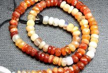 Mexican Fire Opal Beads Strings