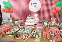 Decoração de Festa Infantil / Ideias criativas, diferentes e inspiradoras para você usar na decoração de festas infantis.