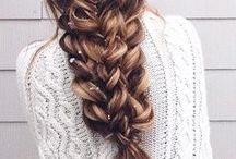 Christmas & New Year's Eve hairstyles / Hairstyles