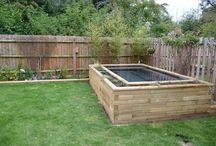 WoodBlocX - jezírka / Vodní prvky na zahradě - sami a snadno.