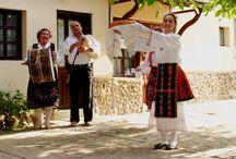 """The Folklore Program / The folklore program includes Bulgarian songs, dances and rituals from the """"Vaeshki"""" region."""