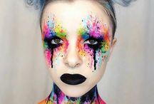 Artistic faces