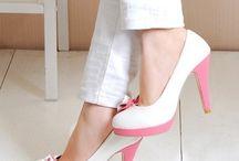 Folle des souliers