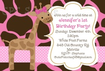 giraffe party / by Missy Lavergne