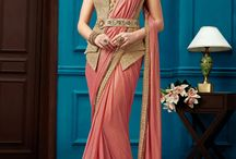 Exclusive Heavy Embroidered Designer Sarees