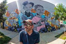 Street Art / Street art & Graffiti I spy with my little eye...