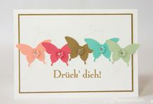 Stampin' Up! Butterfly / Visit my board: Stampin Jacqueline My Gallery