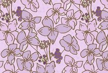 fabric design : Devon summer