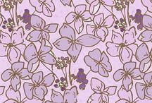 fabric design : Devon summer