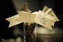 Rustic Wedding Reception Details / by Gourmet Invitations