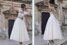 50's style wedding.